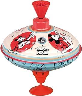 comprar comparacion Bolz 52362 - Peonza de peluche (16 cm, chapa de metal, con diseño de Mickey Mouse, peonza con base, para niños a partir de...