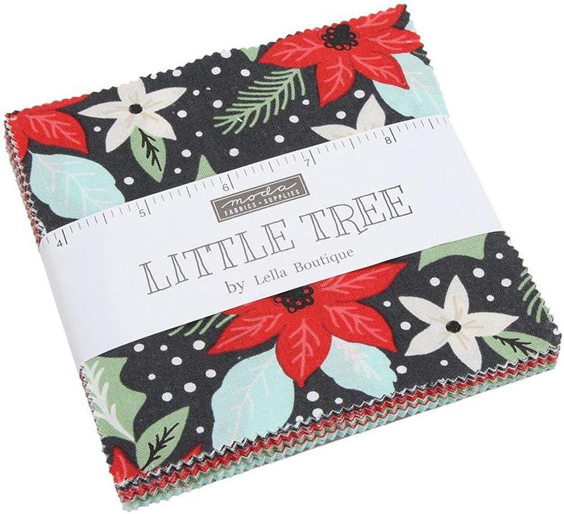 MODA Little Tree Charm Pack by Lella Boutique; 42-5
