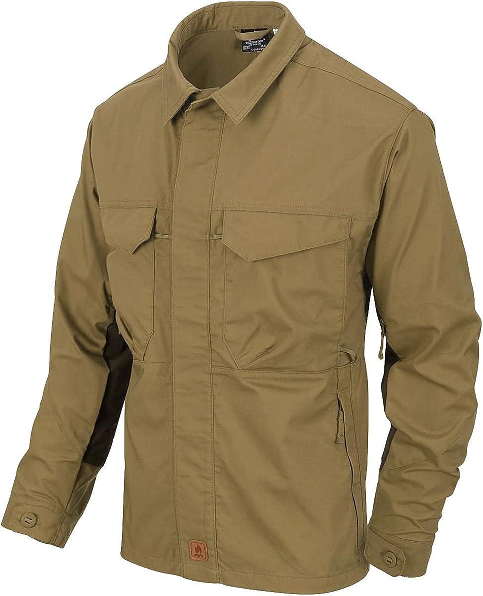Daily bargain sale Ranking TOP17 Helikon-Tex Men's Woodsman Shirt Green Black Taiga