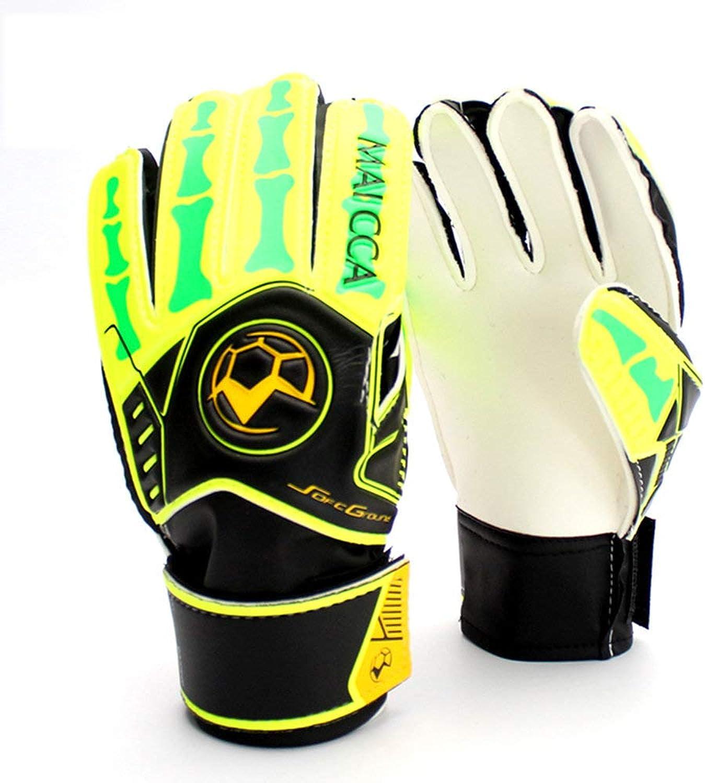 Gloves Professionelle Torwarthandschuhe für Kinder Kinder Kinder Fußballtorwarthandschuhe Fußballfanhandschuhe, Farbe  A  5Anzahl B07KW5771C 4ea18a