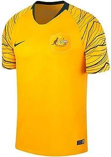 368fec7fdfa8a Nike Camiseta Breathe Australia Away Stadium, Color Amarillo Yema/Verde  Oscuro