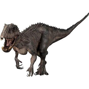 Nanmu Studio 本心楠改 1/35 インドミナツ 恐竜 リアル フィギュア PVC モデル おもちゃ レックス プレミアム 45cm級 人形付き オリジナルボックス 塗装済