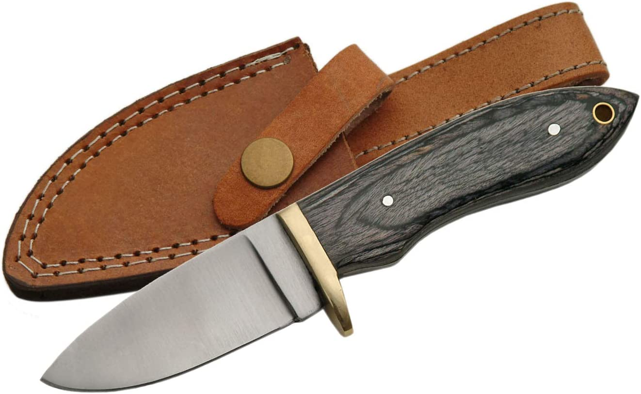 SZCO Supplies Black Special Campaign Ranking TOP17 Wood Hunting Knife Steel Stainless