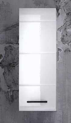 trendteam Muebles, Armario suspendido, Roble, Blanco, 37 x 80 x 31 cm: Amazon.es: Hogar