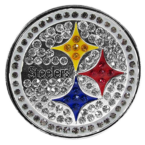 NFL Siskiyou Sports Womens Pittsburgh Steelers Crystal Pin One Size Team Color