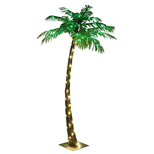 c56b1a329 Lightshare 5FT Palm Tree, 56LED Lights, Decoration For Home, Party,  Christmas,