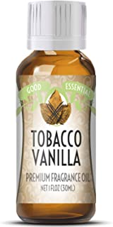 Tobacco Vanilla Scented Oil by Good Essential (Huge 1oz Bottle - Premium Grade Fragrance Oil) - Perfect for Aromatherapy, ...