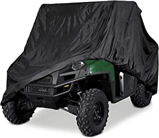 Deluxe Black UTV Cover Fits Up To 120