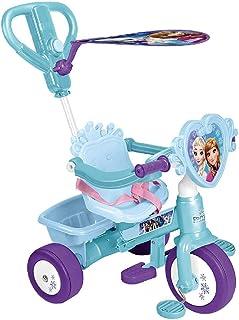 FEBER - Triciclo y cochecito de paseo Frozen (Famosa