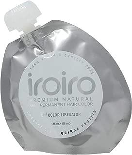 IroIro Premium Natural semipermanente color de pelo DIY color Liberator 4oz