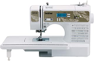 Brother RSQ9185 (Refurbished), 185 Built-in Stitches Quilting Machine, LCD Display, Wide..