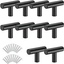 Yorbay 10 stuks T-vorm stanggreep deurknop meubelknoppen ladeknoppen kastknoppen voor kast keuken laden, roestvrij staal, ...