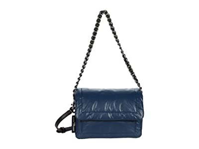 Marc Jacobs Mini Pillow Bag (Blue Sea) Handbags