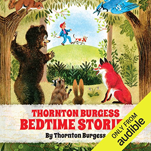 Thornton Burgess Bedtime Stories audiobook cover art
