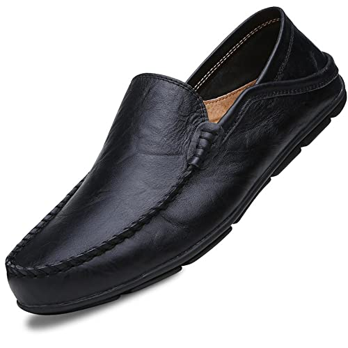 7f25599f0a98d Leather Driving Shoes: Amazon.com