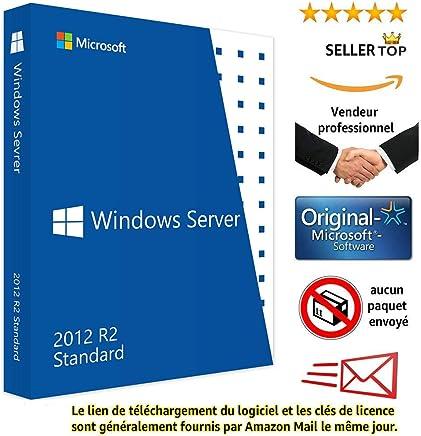 Microsoft Windows Server Standard 2012 R2 | Clé d'activation licence originale | Envoi en 24 heures | Livraison gratuite par e-mail