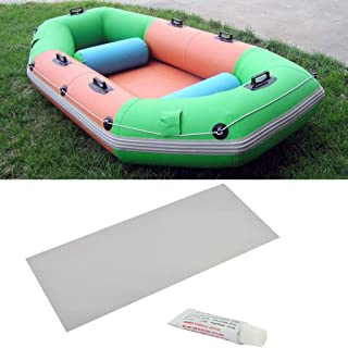 S-TROUBLE Uppblåsbar båt simbassäng PVC punktering reparation lapp lim kit självhäftande kanot