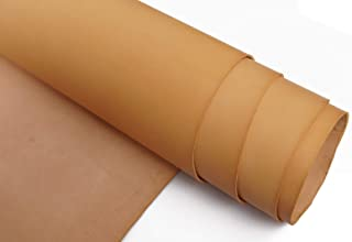 Veg Tan Tooling Leather 2.0mm Full Grain Stiff Cowhide Handmade DIY Art Crafts Carving Firm Genuine Leather
