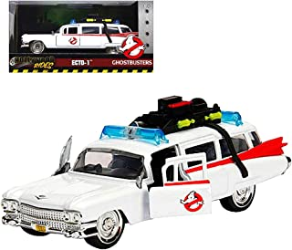 Jada Diecast Ecto-1 Ghostbusters Hollywood Rides Car 1:32 Scale