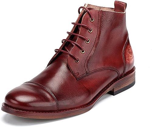 Stiefel Para Hombre Casual Martin Stiefel schuhe De Cuero Clásicos Para herren Para Trabajos De Negocios Al Aire Libre