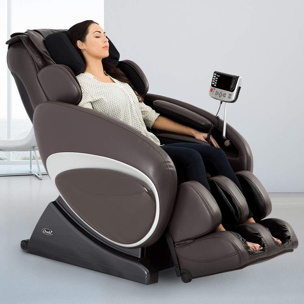Amazon Com Osaki Os 4000 Massage Chair Fda Zero Gravity Computer Body Scan Auto Height Adjustment And Wireless Remote Health Personal Care
