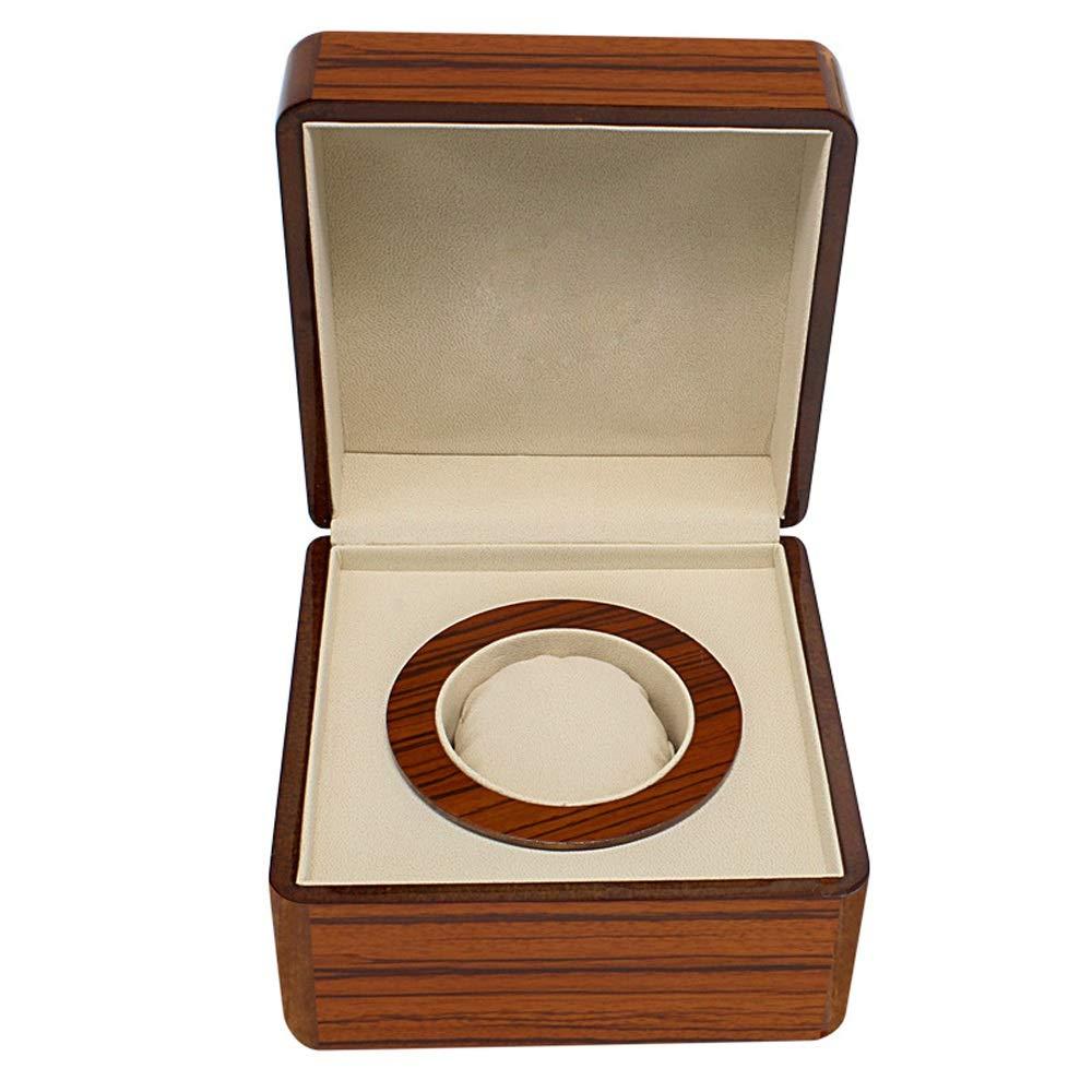 HUDEMR Caja de Reloj PU de Cuero Individuales Relojes exhibición de la joyería Caja de Almacenamiento Tamaño Gratis Apto para Todos (Color : Brown, Size : Free Size): Amazon.es: Hogar