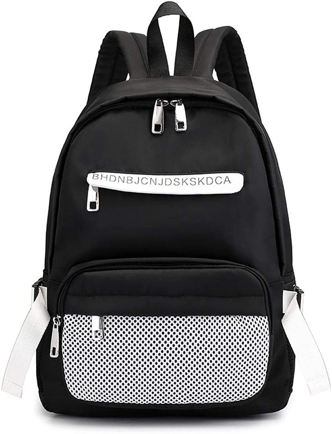 Laptop BackpackBusiness Computer Bag Outdoor Sports Computer Backpack Hit color Wild Large Capacity Backpack Female College Wind Travel Backpack
