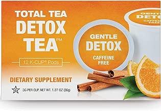 Total Tea Gentle Detox Tea 2.0 K-Cup Compatible - 12 Herbal Tea Pods