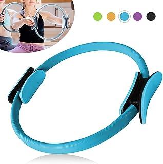 Irfora 16 Inch Yoga Pilates Ring Workouts Exercise Fitness Resistance Training Circle