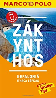 Zakynthos and Kefalonia Marco Polo Pocket Travel Guide - with pull out map: Includes Ithaca and Lefkas