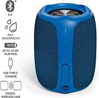 Creative MUVO Play ブルー IPX7防水 USB Type-C 最大約10時間連続再生バッテリー搭載ポータブル ワイヤレス スピーカーSP-MVPL-BU