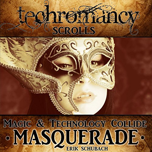 Techromancy Scrolls audiobook cover art