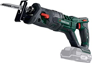 Parkside Cordless Sabre Saw PSSA 20-Li A1 Bare Unit Only No Battery or Charger Provided Comes in Case with 1x Swiss Made W...