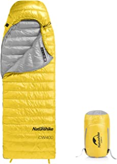 Naturehike Ultralight Goose Down Sleeping Bag Cold Weather 750 Fill Power 4 Season Waterproof Compact for Adults & Kids - ...