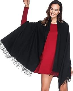Einfarbiger Kaschmir schal für Frauen,Damen Umschlagtuch Pashmina Schal Tuch Stola(vielen Farben)