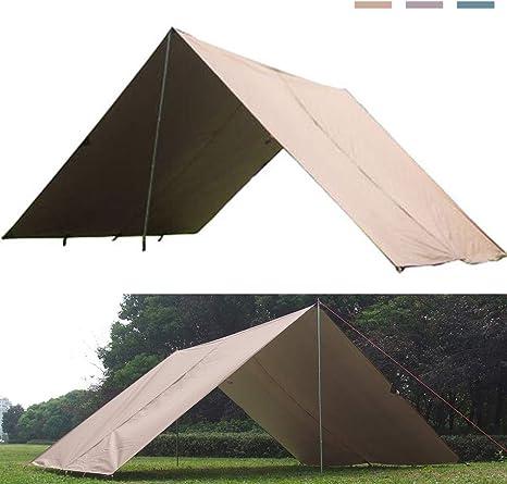 Lona De Para Camping, Toldo De Refugio Portátil Impermeable ...