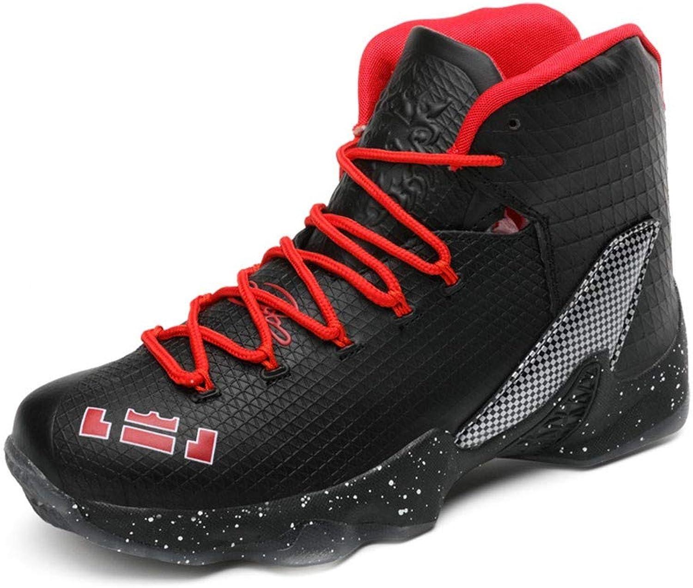 IDNG Basketballschuhe Unisex Basketball Schuhe Schuhe Schuhe Männer Turnschuhe High Top Stiefelette Outdoor Männliche Sportschuhe B07MSKPRCR  Hohe Qualität und Wirtschaftlichkeit 259475