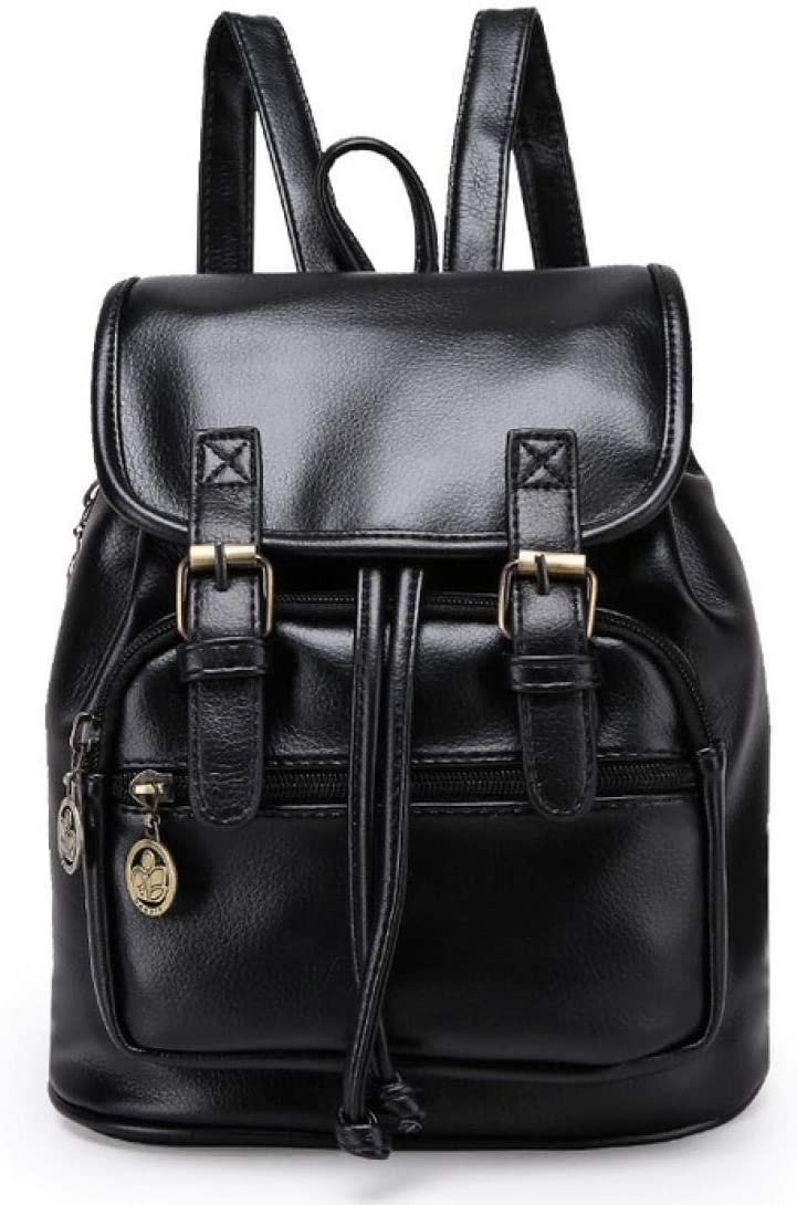 ZYSAJK Fashion Women Fashion Designer Backpacks Vintage Pu Shoulder Bag Retro Small Lady Schoolbag Cute Bags