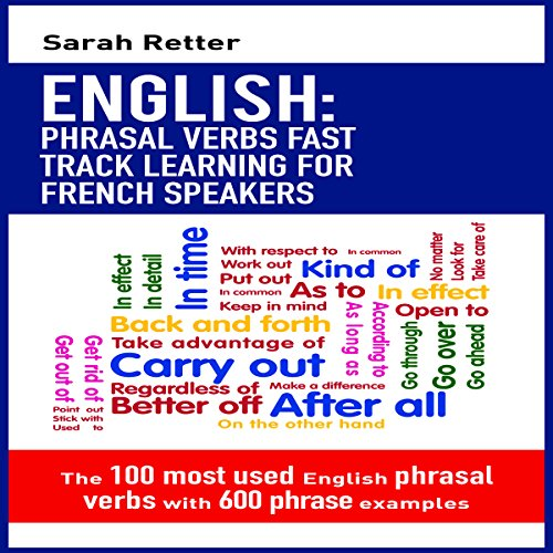 English: Phrasal Verbs Fast Track Learning for French Speakers Titelbild