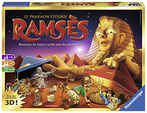 Ravensburger – 26717 – Ramses – Spiel (französische Version)