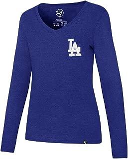 '47 MLB Women's Clutch Backer Club Long Sleeve Tee