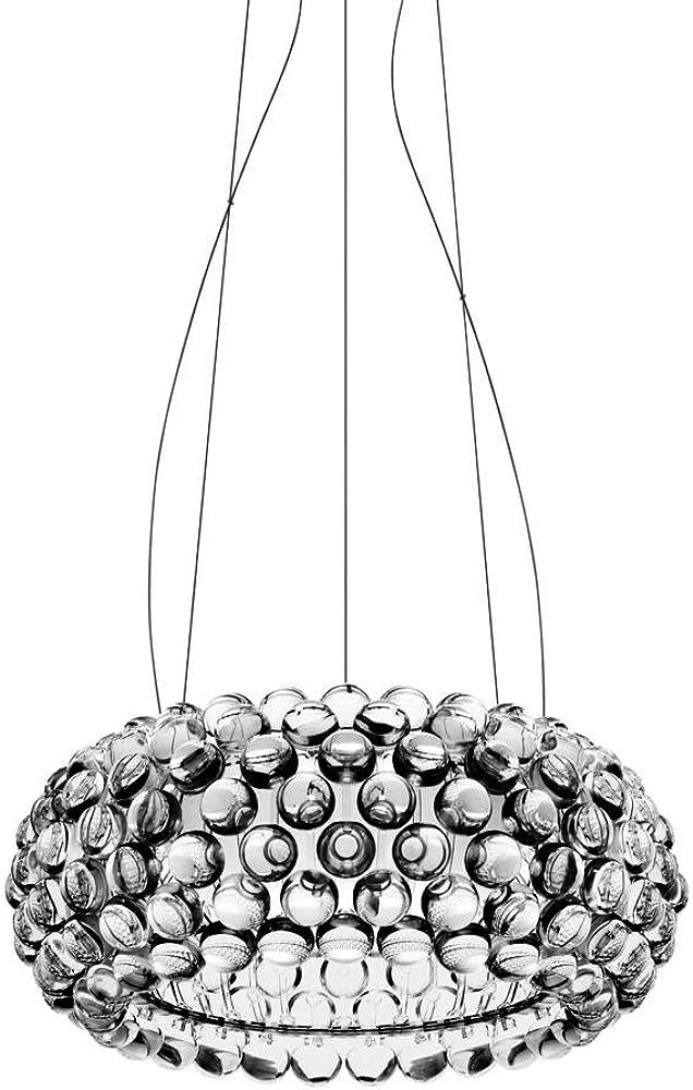 Foscarini lampada caboche media sospensione, led 138007L16