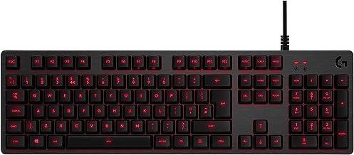 Logitech G413 Mechanisch Gaming Toetsenbord, Verlichte toetsen, Romer-G Tactile Key SWitches, Aluminium case, USB input, N...