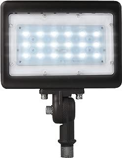 LED Flood Light Outdoor Waterproof Fixture; 1/2