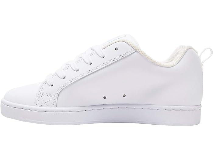 Dc Court Graffik W White/blue Jay Sneakers & Athletic Shoes