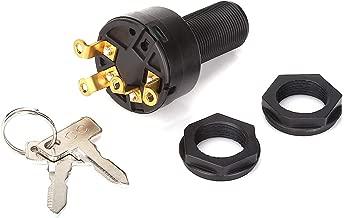 World 9.99 Mall Club Car Ignition Key Switch Gas Club Car DS & 96-02 Precedent with 2 Keys 1018263-01