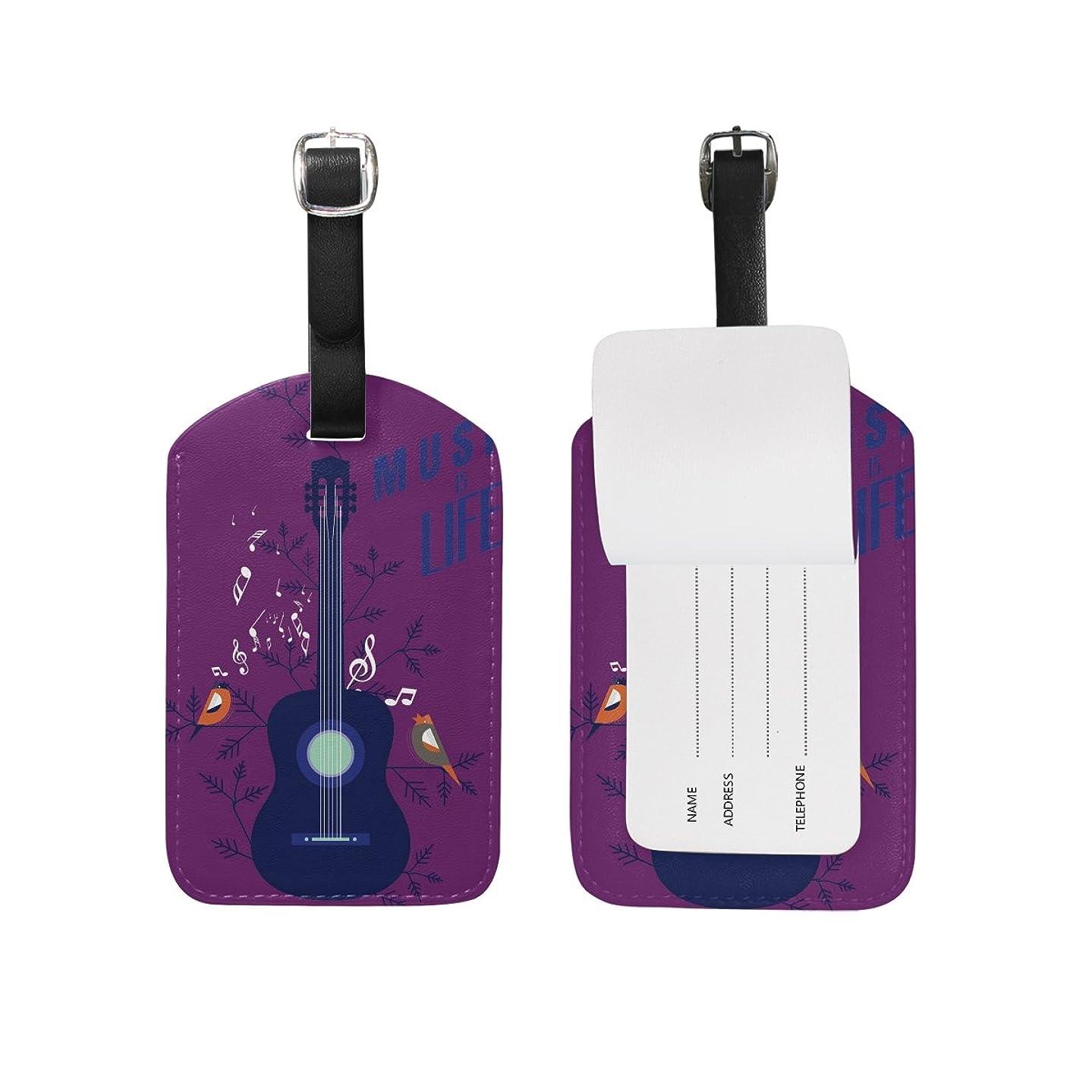 ドラゴンスキルゴールドパープルミュージックギター荷物をトランクラベルリュックサックスーツケース キッズ ジュニアID 旅行用品(2pcs)