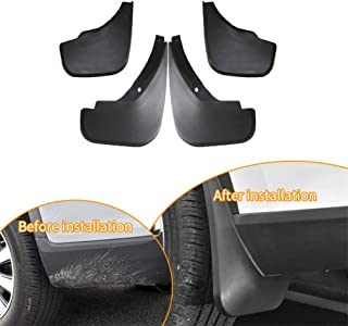 A-premium Splash Guards Mud Flaps Mudflaps for BMW F07 535i/ GT 550i GT xDrive 2011-2016 Hatchback/ 4-Door Front and Rear 6-PC Set