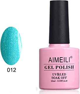 AIMEILI Soak Off UV LED Gel Nail Polish - Hotski to Tchotchke (012) 10ml