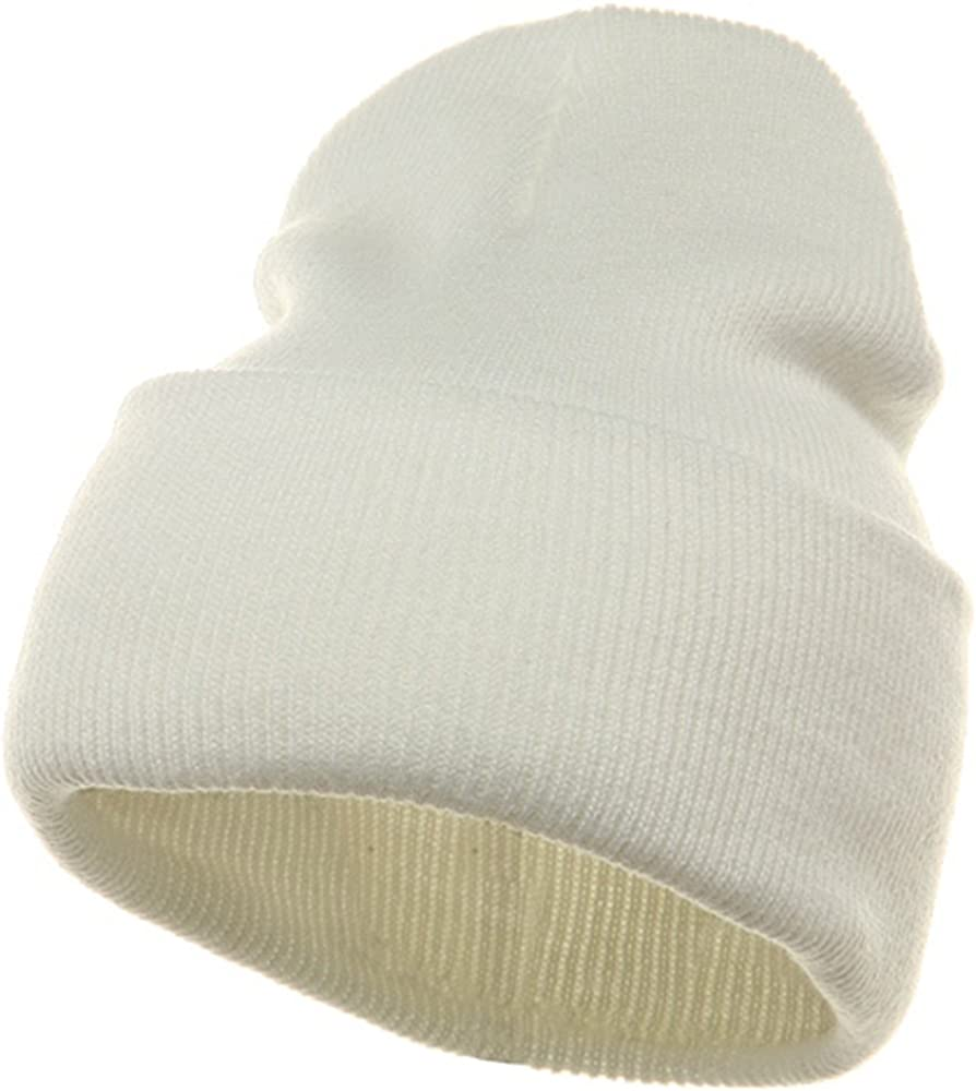 Long Beanie-White Outstanding W16S24E 2021 spring and summer new
